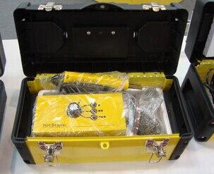 NEW 110V HOT STAPLER PLASTIC WELDING SYSTEM KIT PLASTIC WELDER STAPEL  цены