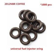 1000 peças universais orings nbr selos oring s id7.52 * cs3.53mm asnu08c/GB3 100 o rings para kit de reparação de injector de combustível (AY O2012NBR)