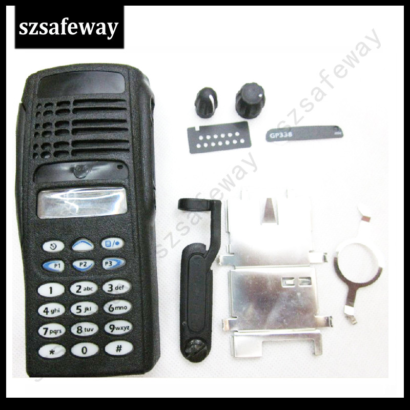 Two Way Radio Housing Case Cover  For Motorola GP338  Walkie Talkie COVER Accessories Free Shipping