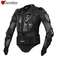 HEROBIKER Professional Motorcycle Body Protection Motorcross Racing Full Body Armor Spine Chest Protective Jacket Gear M-XXXL