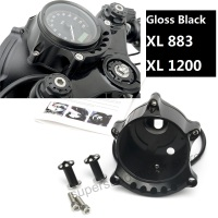 Motorcycle Black Cafe Gauge & Headlight Mount for Harley Sportster IRON XL883 1200R Nightster Roadster