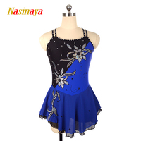 Nasinaya Figure Skating Dress Customized Competition Ice Skating Skirt for Girl Women Kids Patinaje Gymnastics Performance 158