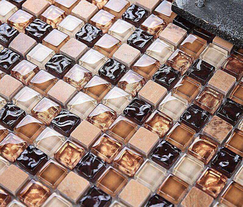 hotdesign mrmol azulejos de mosaico de vidrio azulejos de mosaico de piedra de mrmol para el bao de mesa y de pared tvbacksp