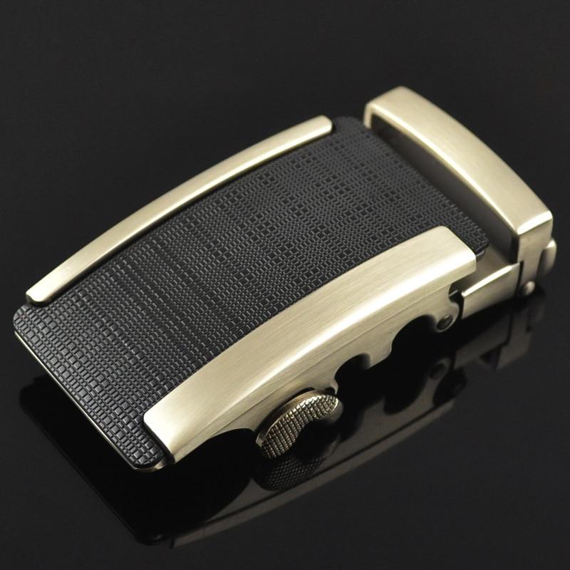 Genuine Men's Belt Head, Belt Buckle, Leisure Belt Head Business Accessories Automatic Buckle 3.5CM Luxury Fashion LY125-0779