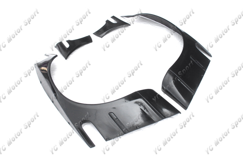 1998-2005 BMW E46 3 Series & M3 Coupe GReddy Pandem Style Front Over Fender Flares FRP (2)