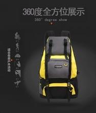 40L Waterproof Outdoor Hiking on foot canvas Shoulders backpack Sport Running Casual Back packs Unisex Mountaineer packages