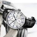 Модные автоматические мужские часы Parnis 43 мм  запас мощности  механические классические мужские часы для дайверов  Топ бренд  Роскошные мужс...