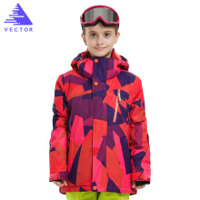 цены Girls Winter Outdoor Ski Sets Ski Suit Children Windproof Waterproof Warm Skiing Jacket Skiing Pants For Boys Girls Clothing Set