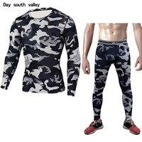 MMA Rashgard Union Suit 2017 Men S T Shirt Tights For Men Set Long Sleeve T