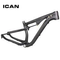 2015 Full Suspenion Carbon Frame 29er Mtb Bike Frame ICAN Brand 15 5 17 5 19