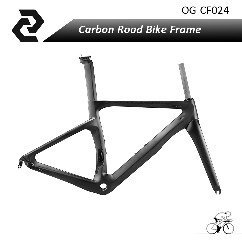 OG-EVKIN Full Carbon Road Bicycle Bike Frame+Fork+Headset+Seat Post+Clamp 3K Weave Glossy/Mattle BB68/BB30 Di2 Size XXS/XS/S/M/L jetair bonny wh 90 a
