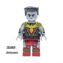 1PCS model building block action superheroes Colossus house games hobby learning kits diy toys for children gift(China)
