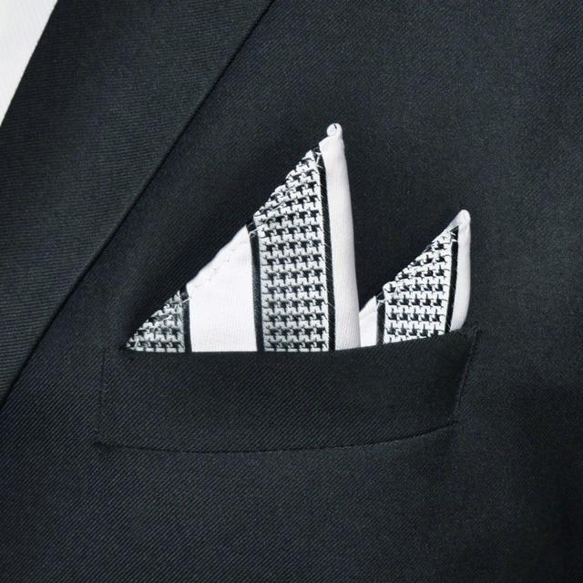 Stylish Houndstooth Pattern Handkerchief