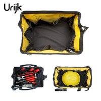 Urijk 13 Inch 600D Oxford Fabric Electrical Bag Single Shoulder Bag Kit Telecommunications Maintenance Electrician Tool