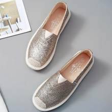 0ecf2952ea Popular Sequined Loafers-Buy Cheap Sequined Loafers lots from China ...