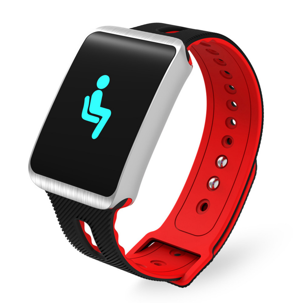 Bluelans Bluetooth Smart Men Women Watch Heart Rate Step Calories Sleep Monitor Sport Bracelet relogio masculino saat Watches tisa sport step n9099
