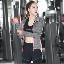 2016 Women Yoga Sport Suit 3 Piece Female Zipper Long Sleeve Womens Sport Set Fitness Ladies Hoodies Sports Women's Clothing