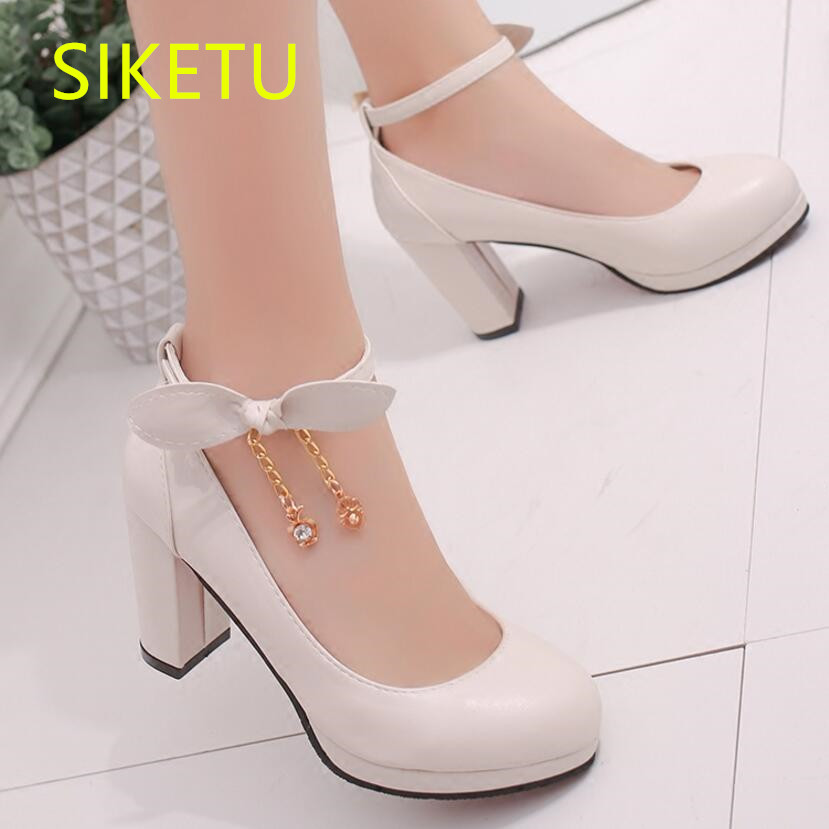 SIKETU Free shipping Spring and autumn women shoes Fashion high heels shoes summer wedding shoes pumps g231 sandals Bow tie 2017 free shipping siketu spring and autumn women shoes fashion high heels shoes wedding shoes pumps g174 summer sandals