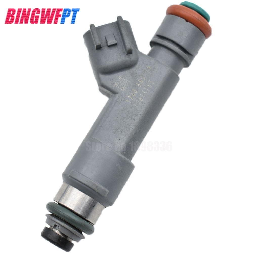 4PCS Fuel Injectors 12613163 For Chevrolet HHR 2.2L 2.4L Malibu Pontiac G6 2.4L