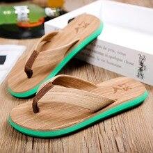 Fashion Men Slides Summer Casual Beach Slippers Designer Flip Flops Male Seaside Flat Canvas Sandals Sandalias Hombre XK032910