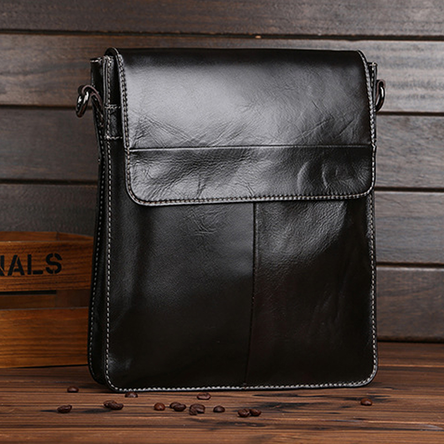 YUFANG Crossbody Bag Male Genuine Leather Accommodating Bag Men Trendy  Messenger Bag Men Cover Oil Waw Leather Business Bag on Aliexpress.com  00046affb3014