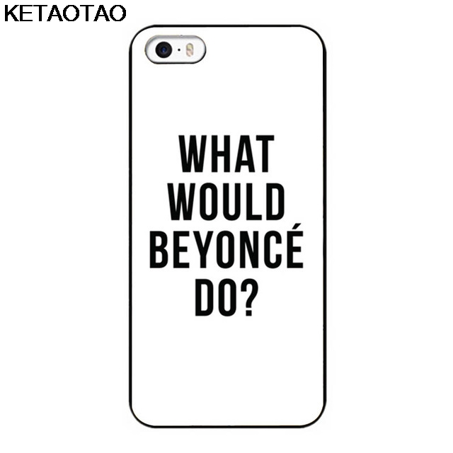 KETAOTAO What What Beyonce Make Beautiful House for Cell Back House Phone Cases for iPhone 6S 7 8 Case Soft TPU Rubber Silicone image