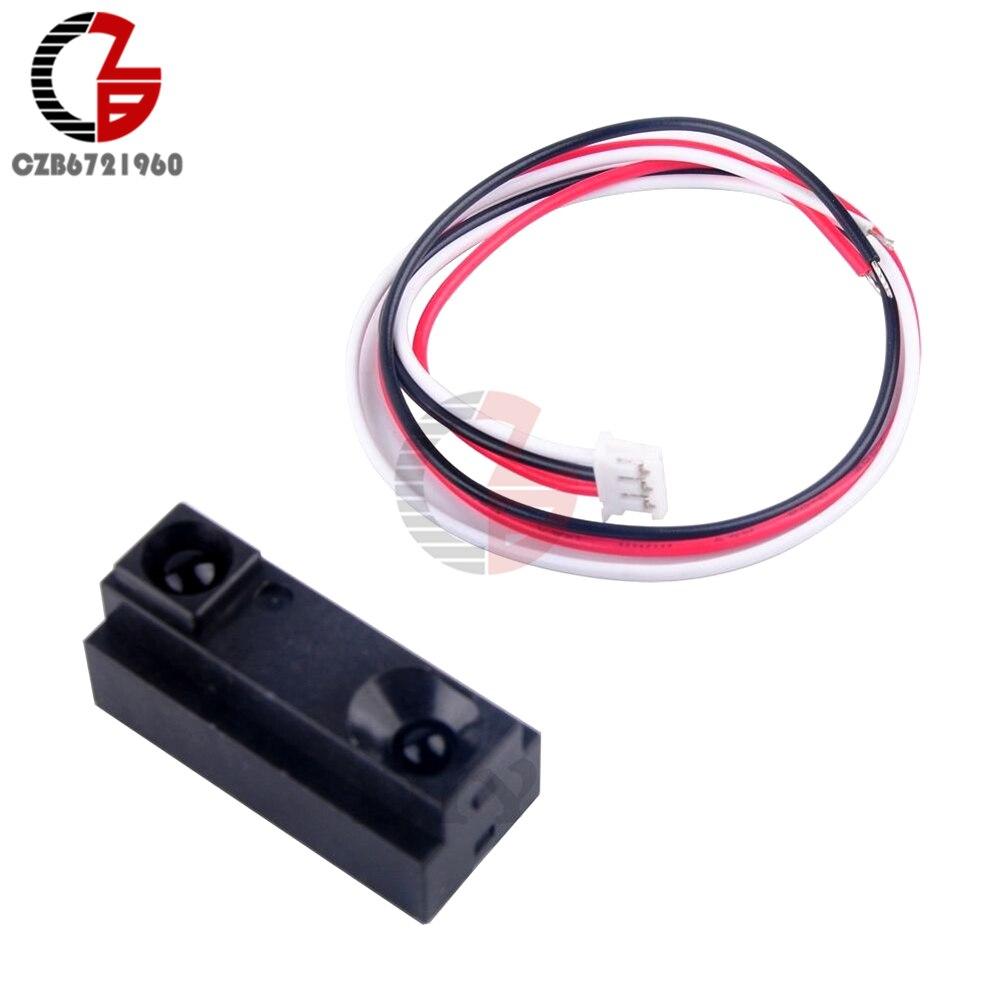 GP3Y0D012 IR Infrared Proximity Switch Sensor Module Distance Measuring 4-150cm hc sr04 ultrasonic module distance measuring transducer sensor with mount bracket