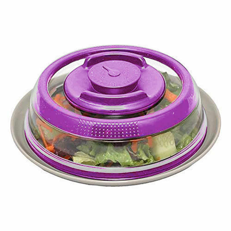 Airtight Vacuum Food Sealer Mintiml Cover Kitchen Instant Vacuum food sealing machineFresh Cover Kitchen Gadge *
