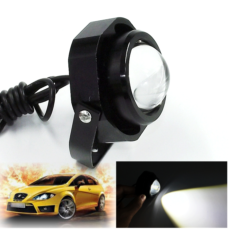 1Pcs/Set LED Eagle Eye Whit Flash Daytime Running Light Car Styling Source DRL Waterproof Warning Fog Lamp Reverse Brake Lamps