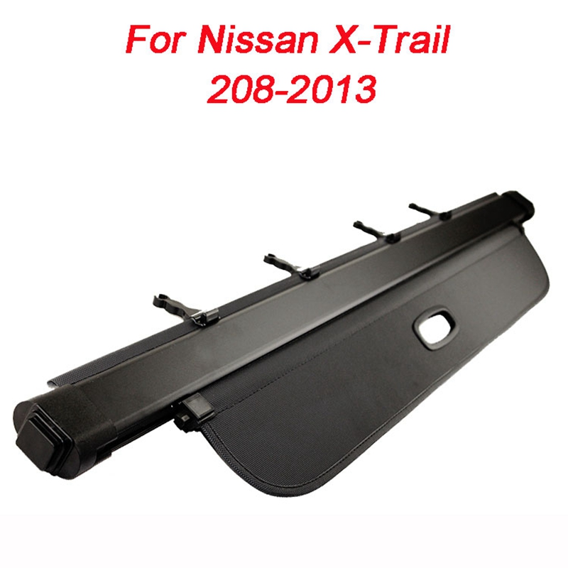 For Nissan X-Trail XTrail 2008 2009 2010 2011 2012 2013 Car Rear Trunk Security Shield Shade Cargo Cover