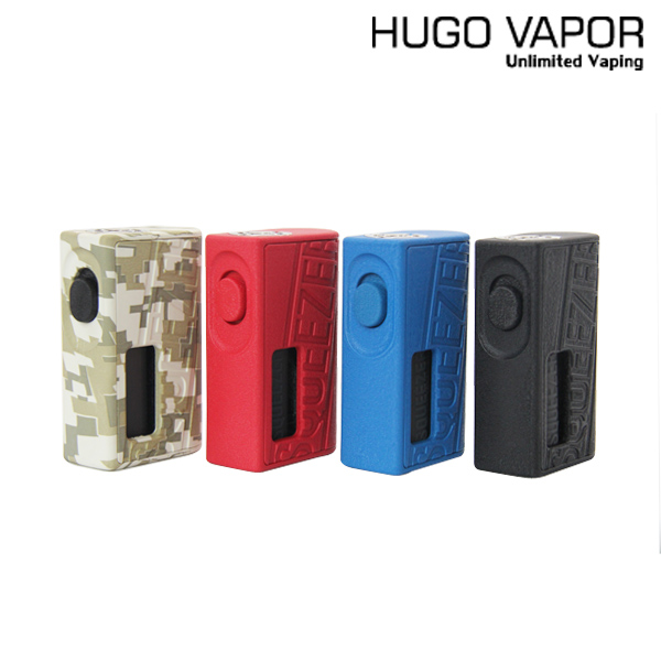 Orignal HUGO VAPOR Squeezer Mod Vape E Cigarette Mechanical BF Squonk Mod fit 18650/20700 Battery HugoVapor N-BF RDA Atomizer