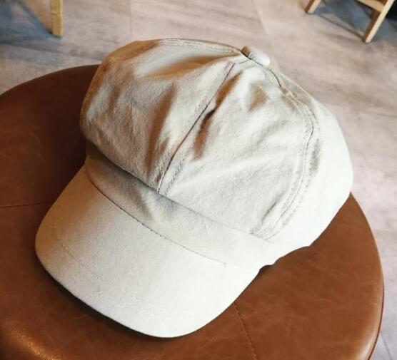 Women Octagonal Hats Beret...