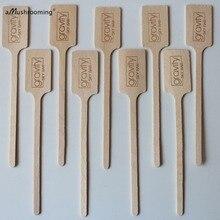 Custom Monogrammed Wooden Drink Stir Sticks, Wedding Cocktail Stirrers, Personalized Swizzle Sticks, Wood Drink Stirrers, Party