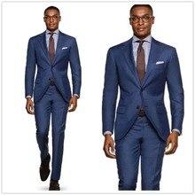 Pink Solid Black Lapel Slim Fit Formal Business Causal Wedding Suit Custom Coat