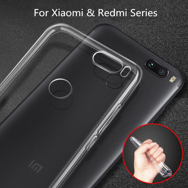 new concept cd125 c1db1 US $1.13 5% OFF|Aliexpress.com : Buy For Xiaomi 8 A2 Redmi Note 5 6 Pro Max  3 Transparent Cover Redmi 6A Note 4X Case Silicone Anti knock Clear ...
