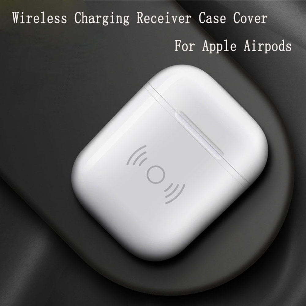 QI Wireless charging Headset case for iphone AirPods Earphone Luxury Polycarbonate back Cover for Airpods Portable charger Box