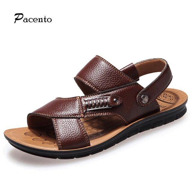 Sandales d'été et Slipper hommes sandales en cu... CHdcKWe