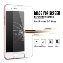 Hot 9H Premium Tempered Glass Screen Protector For 6 6s 7Plus iPhone 7 Plus special edition SE 5 5c 8 4s 5s Protective Film