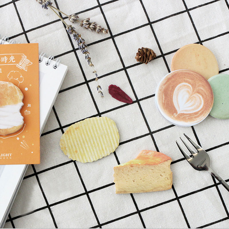 2X cute Afternoon tea time weekly plan Sticky Notes Post Memo Pad kawaii stationery School Supplies Planner Stickers Paper 200 sheets 2 boxes 2 sets vintage kraft paper cards notes filofax memo pads office supplies school office stationery papelaria