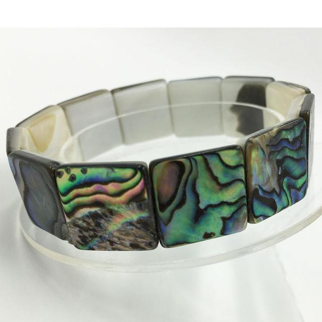 Awesome New Zealand Abalone Shell Bracelet (2 HOT 2 RESIST) 2
