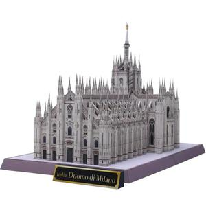 DIY Italy Milan Cathedral Craft Paper Model 3D Architectural Building DIY Education Toys Handmade Adult Puzzle Game(China)