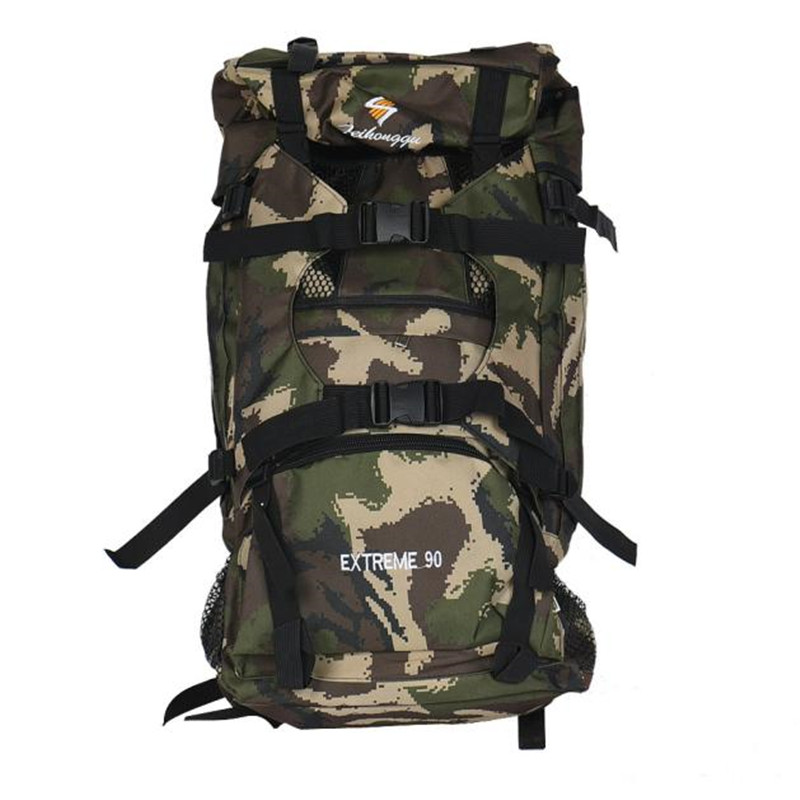90L High Quality Large Hiking Mountaineering Camping Hunting Cycling Backpack Tactical Outdoor Bicycle Bike Bag Wholesale M20