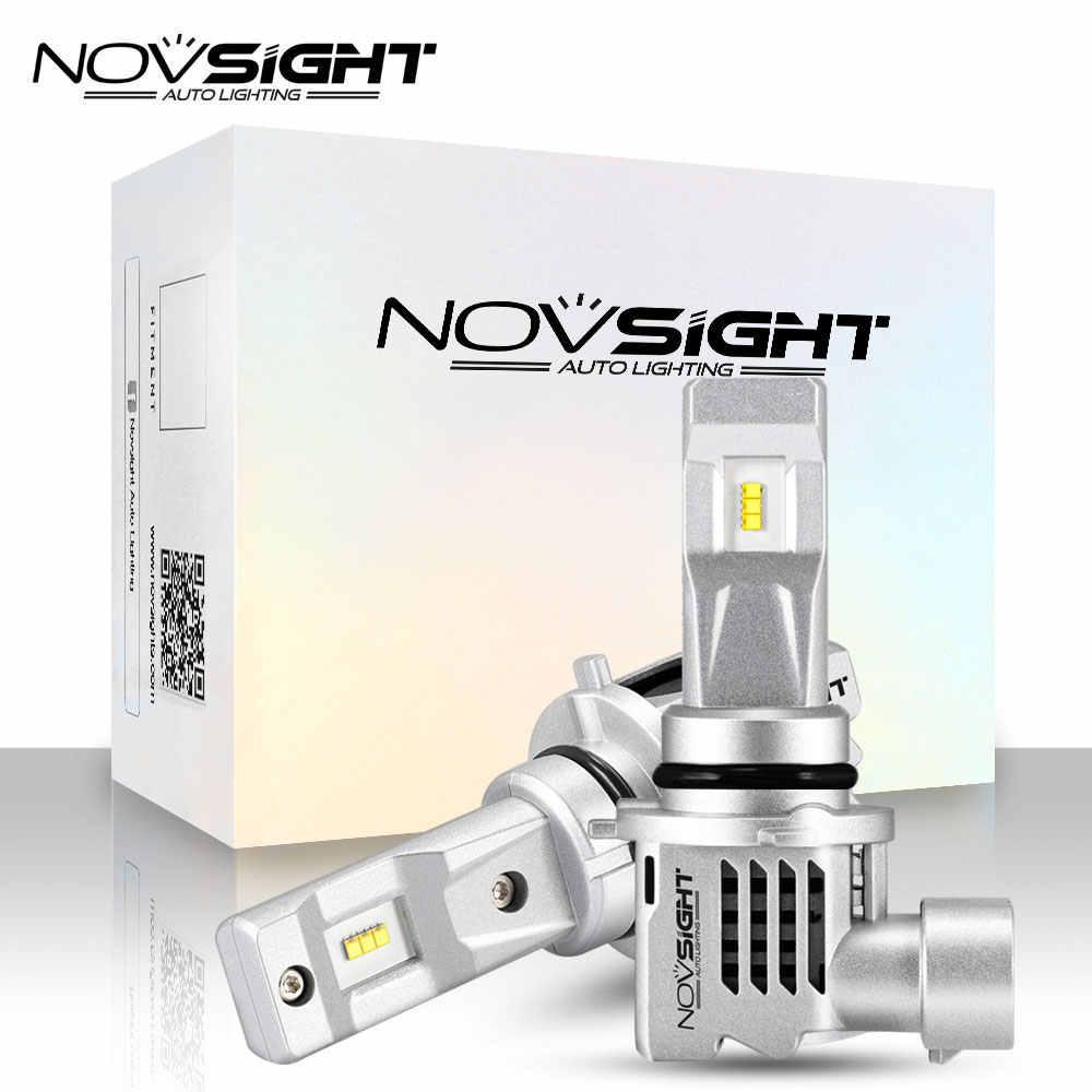 Novsight H7 H4 Led Car Headlight 6000k 55w 10000lm Pair Automotivo H11 9005 9006 HB2 Hi/lo Beam Auto Headlamp Fog Light Bulbs
