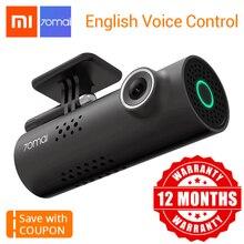 Xiaomi 70Mai видеорегистратор  английского языка голос Управление автомобиля Камера