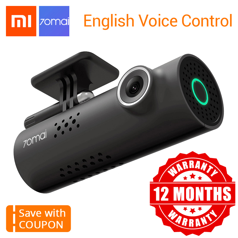 Xiaomi 70Mai Smart Car DVR 1080HD Dash Cam Night Vision Dash Camera Wifi Connect Car Camera Recorder 130 FOV Dashboard Camera