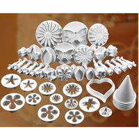Fondant Cake Decorating Tools set Embossing Die Kitchen Accessories DIY baking biscuit mold Plastic engraving Bakery supplies