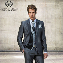 LN115 New Design Fashion font b Men b font font b Suits b font Groom font