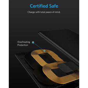Image 5 - Anker Qi Certified Wireless Charger for iPhone 11, Pro, 8/8 Plus Samsung Galaxy  S10 S9 S8, PowerPort Wireless 5 Stand