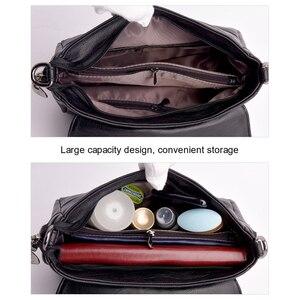 Image 5 - Małe damskie torby na ramię z długi pasek wysokiej jakości PU skórzane koperty torby na ramie z frędzlami na kobiecym ramieniu
