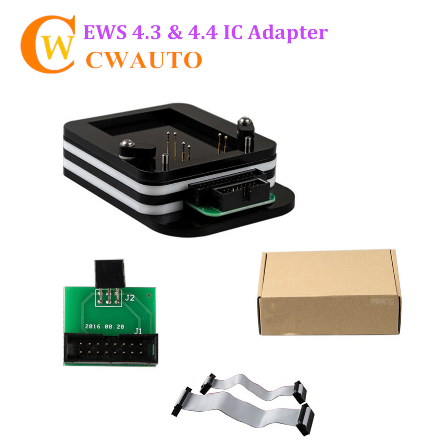 EWS 4.3 and 4.4 IC Adaptor (No Need Bonding Wire) for R280 Plus/ XPROG/ AK90 and R270 Programmer promotion newest ak90 key programmer ak90 pro key maker for b m w all ews version v3 19 plus ak90 with free shipping